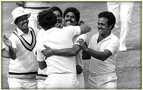 India World Cup 1983 Victory